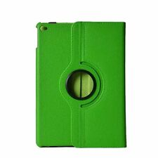 For iPad 234/iPad Air 2 Screen Protector/360°Rotate Litchi Grain Leather Case