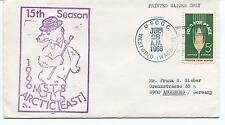 1966 USCGC Westwind WAGB-281 15th Season MSTS Polar Arctic East Cover