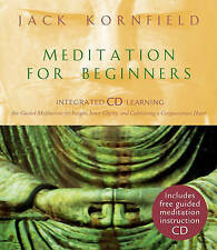 Meditation for Beginners by Jack Kornfield...HARDCOVER WITH CD...VGC