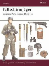 Warrior: Fallschirmjäger : German Paratrooper 1935-45 38 by Stuart Quarrie and …