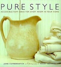 Pure Style, Bourne, Henry, Cumberbatch, Jane, Good Condition, Coffee Table Book