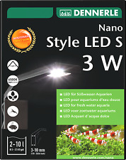 Dennerle Nano Style LED S 3W Aquarium Light for Nano Tanks High Quality EU Made