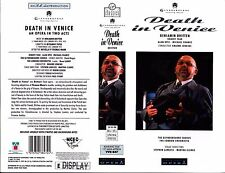 Death In Venice, Benjamin Britten Video Promo Sample Sleeve/Cover #15915