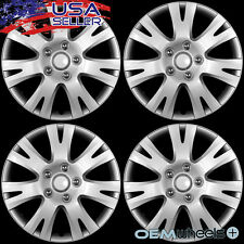 "4 NEW OEM SILVER 16"" HUB CAPS FITS 2003-CURRENT MAZDA 6 SPEED6 WHEEL COVERS SET"