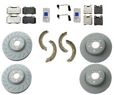Mercedes W209 CLK500 Coupe / Conv GENUINE Complete Brake KIT Rotors Pads Sensors