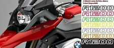 2 Adesivi Serbatoio Stickers Moto BMW R 1200 gs adventure LC ouline 245x25 mm