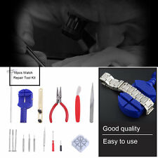 16pcs Watch Repair Tool Kit Band Pin Strap Link Remover Back Opener Hand Tool F5