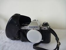 Yashica FX-70 Quartz SLR Camera with Case