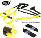 MaxGym® trainer. Body Trainer. Suspension Straps. Home Fitness Oryginal yellow1