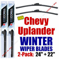 WINTER Wipers 2-Pack Premium Grade fit 2005-2009 Chevrolet Uplander 35240/220