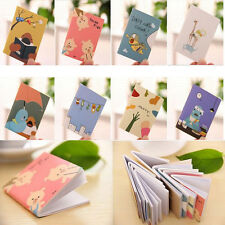 1PCS Cartoon Little Notebook Handy Notepad Paper Notebook Journal Diary
