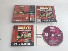 Marvel Super Heroes Vs Street Fighter - PlayStation 1 PS1 - Very Good Condition