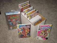 NEW MUTANTS 1-100 NEAR FULL RUN + ANNUALS!! 98 DEADPOOL 87 CGC ANNUAL 2 PSYLOCKE