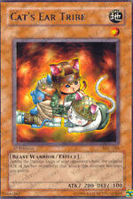 3x Cat's Ear Tribe - MFC-081 - Rare - Unlimited Edition YuGiOh NM MFC - Magician