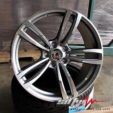 "19"" Wheels fits BMW 530 535 550 6 Series 640 650 Sport Style 437 Gunmetal Rims"