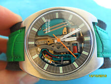 SWISS MADE BULOVA ACCUTRON SPACEVIEW SCHELETRATO  RARO
