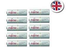 Fujitsu WHITE AA 2000mAh NiMH Low Self Discharge Rechargeable Batteries (x10)
