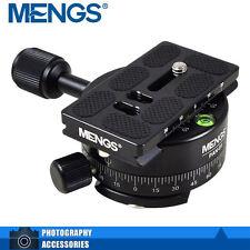 MENGS PAN-01 360°testa panoramica fotocamera con piastra a sgancio rapido
