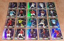 Adrenalyn Champions League 2012-13 Master complete set of 20 cards Rare & New