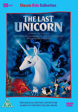 DVD:THE LAST UNICORN - NEW Region 2 UK