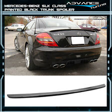 05-10 Benz SLK Class R171 2Dr AMG ABS Trunk Spoiler OEM Painted Match Black #040