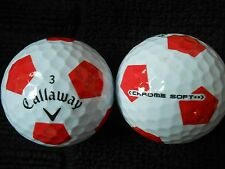 "20 CALLAWAY ""HEX CHROME SOFT"" -with ""TRUVIS"" - ""MINT/PEARL"" Grades."
