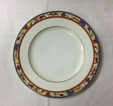 "VILLEROY&BOCH ""MADELEINE FILET ROUGE"" SALAD PLATE 8 1/2"" HEINRICH GERMANY"