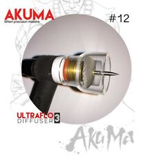 AKUMA 12 Pyrex Glass Cup With Ultraflo Gas Diffuser CK Welding Tig Finger Fupa