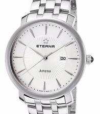 New Womens Eterna Artena Swiss Made Classic Dress Bracelet Every day Watch