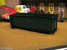 RESIN CAST MARATHON ROLL OFF DUMPSTER CONTAINER CAN ERTL FARM TOY DIORAMA 1/64