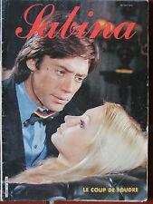 Roman photos Sabina - Le coup de foudre (1983)