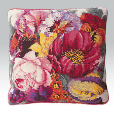 EHRMAN 1993 POSY OF FLOWERS CUSHION by ELIAN McCREADY TAPESTRY NEEDLEPOINT KIT