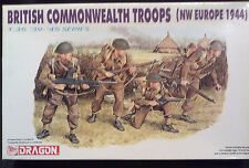 Dragon 6055 British Commonwealth troops (NW Europe 1944) 1:35 NUOVO E IMBUSTATO