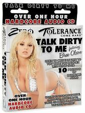 TALK DIRTY TO ME Hardcore Audio CD Featuring Bree Olson. FREE EXPRESS