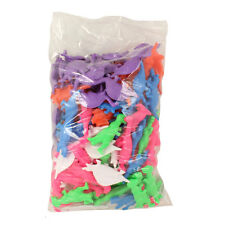 Plastic Dinosaurs BAG OF 144 (Assorted Colors & Styles) - Wholesale bulk lot