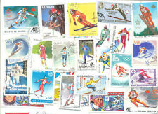 Ski-ing 100 all different collection mainly large