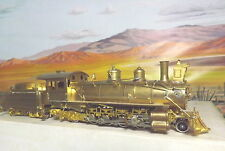 HON3 BRASS STEAM ENGINE D & RG K-27 COMPOUND 2-8-2 BOX HAS WEAR