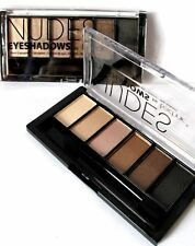 Nudes Eyeshadows by Technic ~ 6 shadows in Shades of Brown and Creams