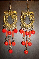 Large Long Indian~Asian Ethnic Boho Chandelier Earrings~ER148~uk seller~