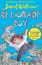 BILLIONAIRE BOY / DAVID WALLIAMS TONY ROSS 9780007371082
