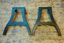 Cast iron machine legs for dining or kitchen vintage industrial table
