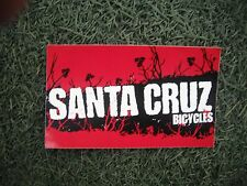 Santa Cruz Bicycles Bike Decal Sticker Original