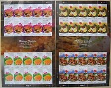 MALAYSIA HONG KONG JOINT ISSUE ON LOCAL FOOD 2014 (STAMP SHEET SET)
