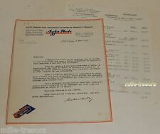 LETTRE 1933 AGFA Photo (Importation d'ALLEMAGNE) : Nouveautés Billy Record & III