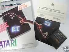 Atari Computer 400 800 XL XE ET Phone Home RX8030 Video Game System