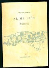 BURONZO VINCENZO AL ME PAIS CANTI MONFERRINI  RASSEGNA 1962 DIALETTO PIEMONTE