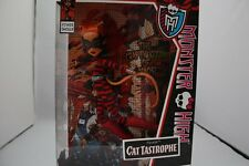 MONSTER HIGH TORALEI CAT TASTROPHE POWER GHOULS DOLL CRAFTY KITTY CATWOMAN MIP