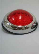 Flush Mount LED Round Street Rod Tail Light Ford Chevy