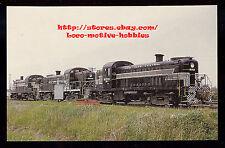 Postcard NEW YORK CENTRAL System Alco RS2 NYC #8213 #8203 #8233 Lightning Stripe