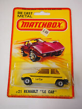 Matchbox Superfast NO 21  Renault LE CAR